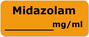 Midazolam ohne mg